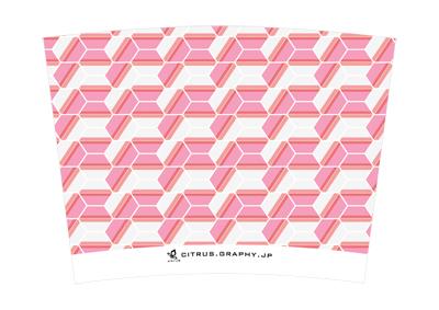 スターバックス クリエイトユアタンブラー デザイン 台紙 ピンクダイヤ
