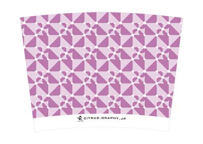 スターバックス クリエイトユアタンブラー デザイン 台紙 グレープポップ