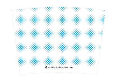 スターバックス クリエイトユアタンブラー デザイン 台紙 スカイトーン