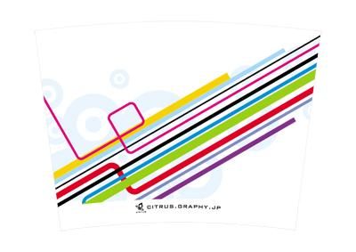 スターバックス クリタン(クリエイトユアタンブラー) デザイン 台紙 ベクトルライン